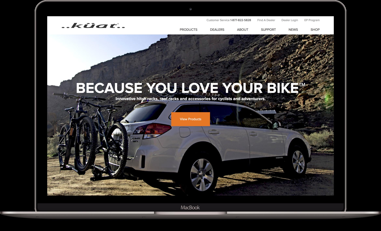 Website design Kuat Racks