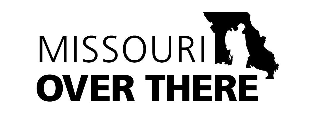Missouri Over There branding, logo design