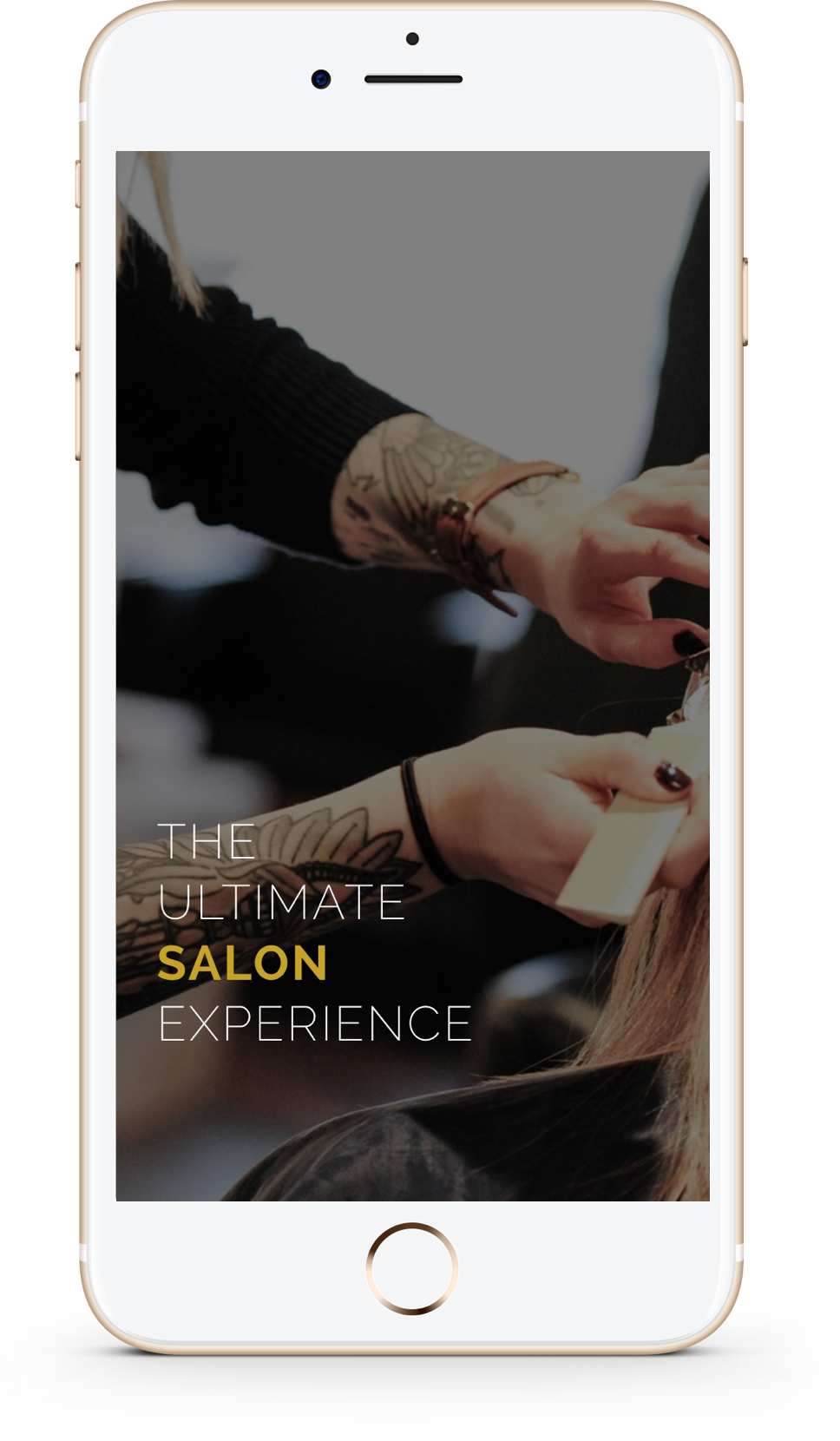 Mobile design and development for Vivo Salon in Springfield Mo